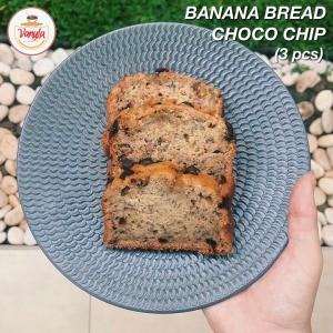 Banana Bread Choco Chip (3 pcs)